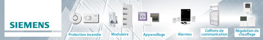 Disjoncteurs de la marque Siemens