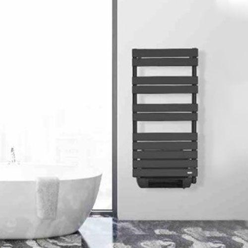 DELONGHI LIO Sèche-serviettes anthracite programmable avec soufflerie 1600W - 278433