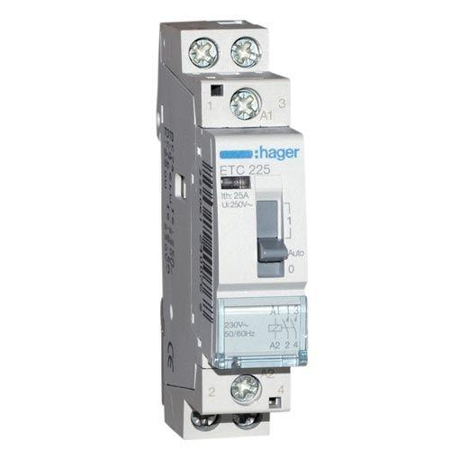 HAGER Contacteur de puissance Jour/Nuit 25A - ETC225