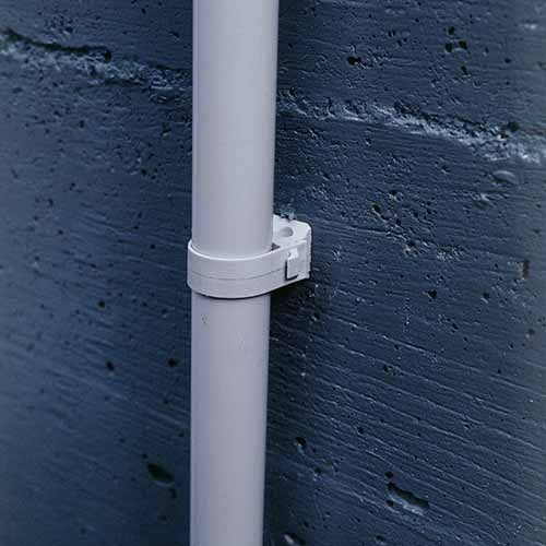 Fix-ring+ sachet de 15 fixations pour tube Diamètre 25 ING FIXATIONS