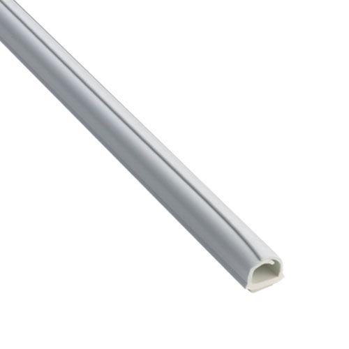 INOFIX Cablefix Gaine adhésive 8 x 7 mm - Blanc