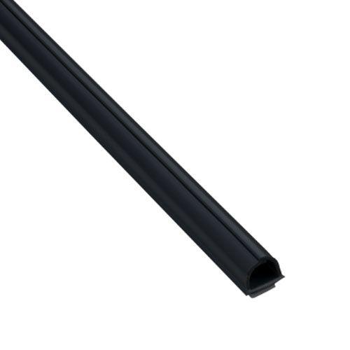 INOFIX Cablefix Gaine adhésive 8 x 7 mm - Noir