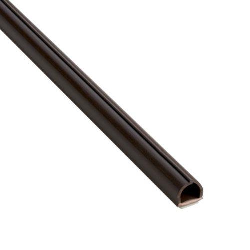 INOFIX Cablefix Gaine adhésive 8 x 7 mm - Marron