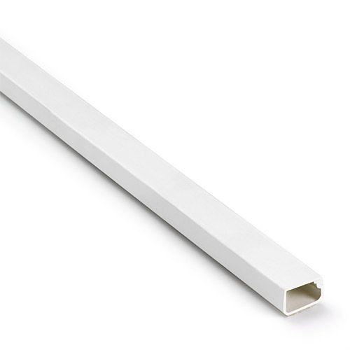 INOFIX Moulure électrique adhésive 16x10mm L1,16m blanche - CAB241121