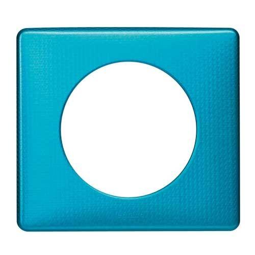LEGRAND Céliane Plaque Métal 1 poste Blue snake - 068771