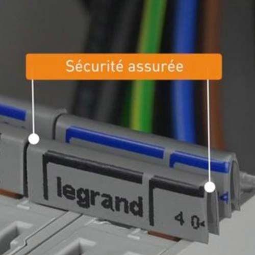 LEGRAND Peigne d'alimentation électrique 13 modules universel
