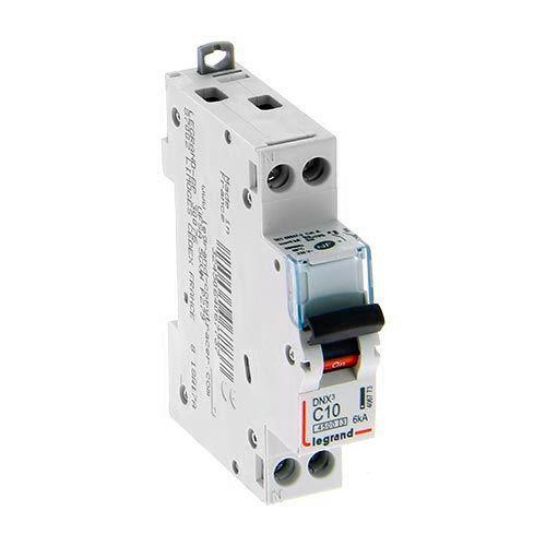 LEGRAND Disjoncteur électrique DNX3 Uni + neutre 10A