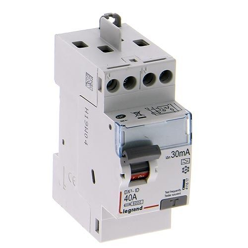 LEGRAND DX3 Interrupteur différentiel 40A 30mA Type A