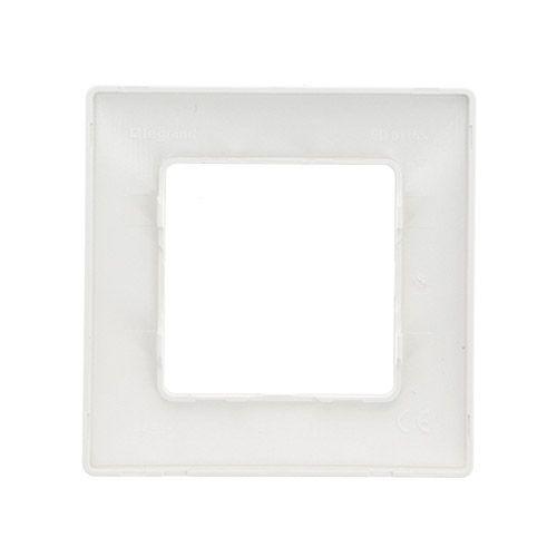 LEGRAND Niloé Plaque 1 poste blanc