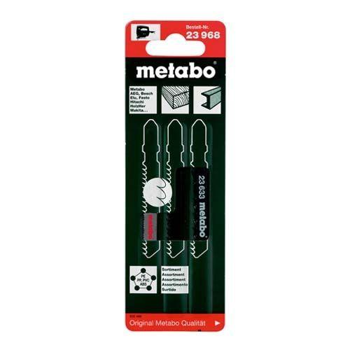 METABO 3 Lames scie sauteuse bois et métal - 623968000