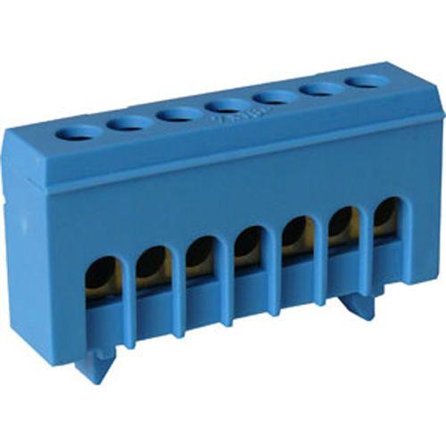 Bornier de connexion bleu Neutre