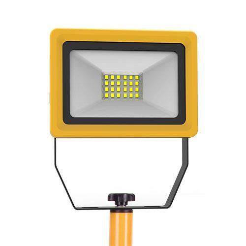 Projecteur LED sur trépied de chantier 230V 20W 1800lm 4000°K IP65