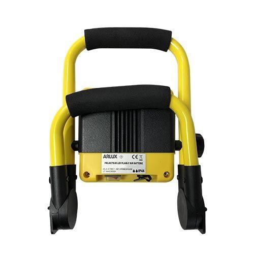 Projecteur de chantier LED sur batterie extra plat 10W 500lm 4000°K IP44