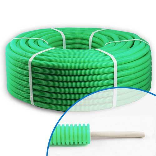 Gaine préfilée câble FTP 4P CAT5 100MHz  D20 - Couronne de 100m