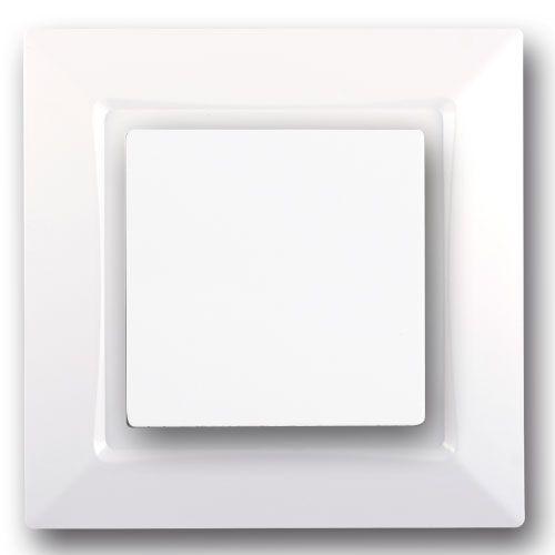SIEMENS Delta One Interrupteur poussoir complet - Blanc