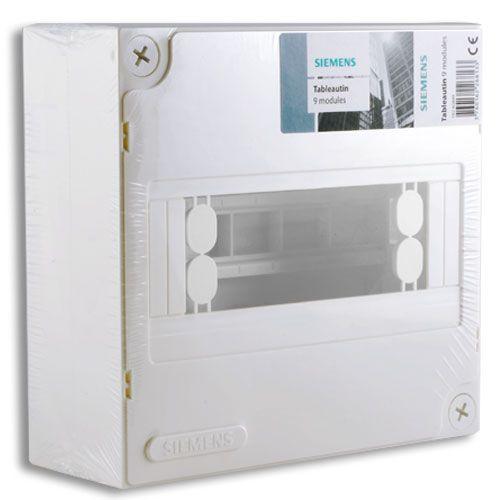 Siemens tableautin 9 modules