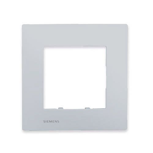 SIEMENS Delta Viva Plaque simple - Silver