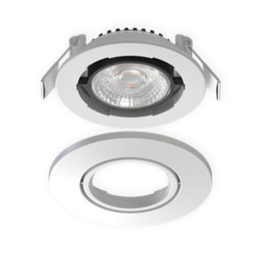 Spot LED BBC encastrable orientable dimmable SOLUM 6W CCT Libra