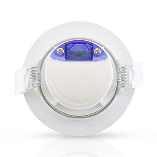 VISION-EL Spot LED encastrable et orientable 230V 7W 550lm 3000°K blanc - Dos