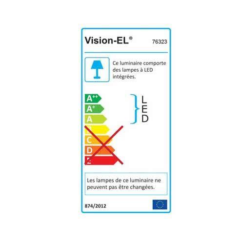 VISION-EL Spot LED encastrable et orientable 230V 7W 550lm 3000°K blanc - Energie