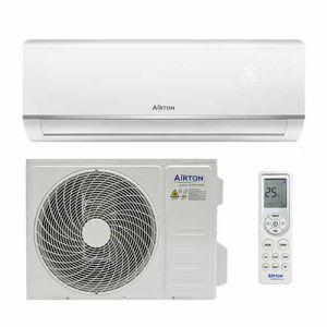 AIRTON Climatiseur fixe mono-split réversible 2500W/2800W - 409730
