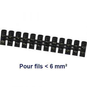 Barrette dominos de connexion 6mm²