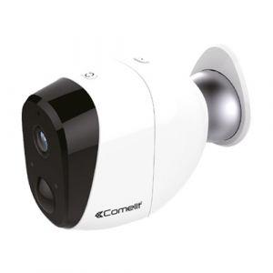 COMELIT Caméra connectée extérieure et intérieure 720p rechargeable - WICAM020A