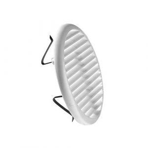 DMO S Grille PVC éco blanc 80/125