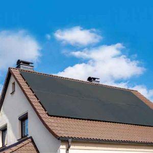 DUALSUN Flash panneau solaire monocristallin 300Wc noir - Maison tuile