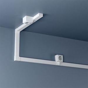GGK Angles plats pour moulure adhesive 22x12mm blanc - lot de 4