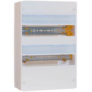 LEGRAND Drivia Tableau électrique 13 modules nu 2 rangées
