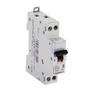 LEGRAND DNX3 Disjoncteur 16A ph+n  courbe D - 406802