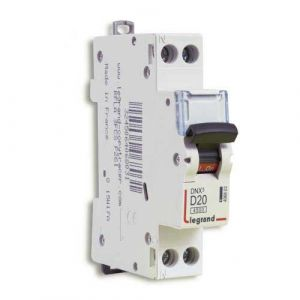 LEGRAND DNX3 Disjoncteur électrique 20A courbe D
