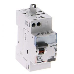 LEGRAND DX3 AUTO Interrupteur différentiel Type AC 63A 30mA  2M - 411650