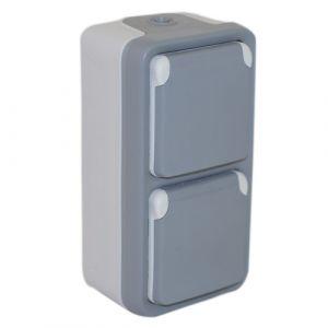 LEGRAND Plexo Double prise de courant verticale