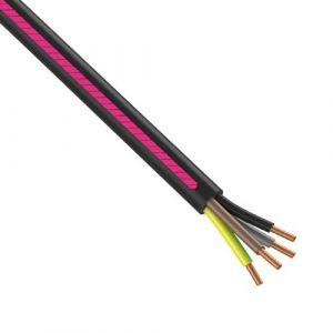 Câble électrique RO2V 4G1.5² N/M/G/VJ NEXANS - Couronne de 50m
