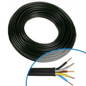 Câble électrique RO2V 5G1.5² - Couronne de 50m