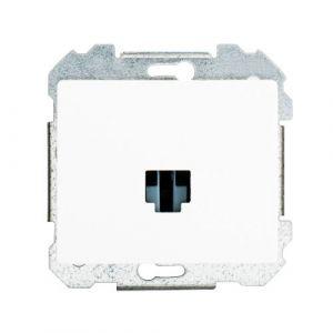 SIEMENS Delta Iris Mécanisme prise informatique RJ45 catégorie 6 - Blanc
