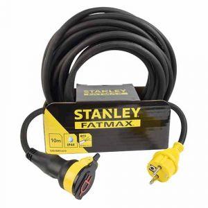 STANLEY Rallonge électrique à clapet étanche 20m H07RN-F 3G1,5 - 227357