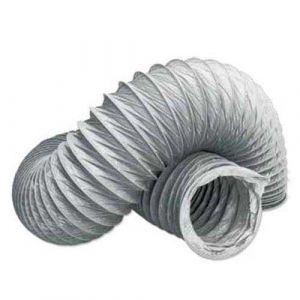 Gaine VMC souple en PVC L3m D80mm - 60008003