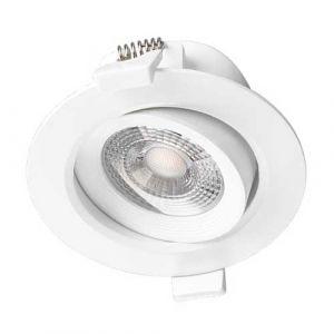 VISION-EL Spot LED encastrable et orientable 230V 7W 550lm 3000°K blanc