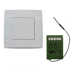 YOKIS Power Kit radio simple allumage 1 télérupteur et 1 télécommande murale - KITRADIOSAP