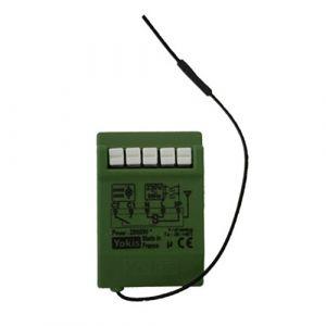 YOKIS Télérupteur 10A 500VA micro-module encastré radio power - MTR2000ERP / 5454462