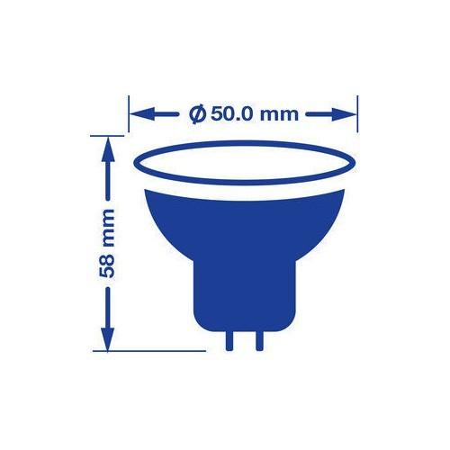 VERBATIM Ampoule LED GU5.3 7W 390lm 12V Intensité variable - 4