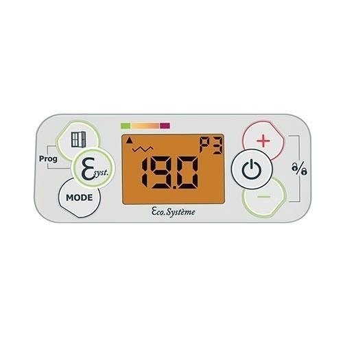 AIRELEC Fever Radiateur inertie horizontal blanc 1000W - A692793