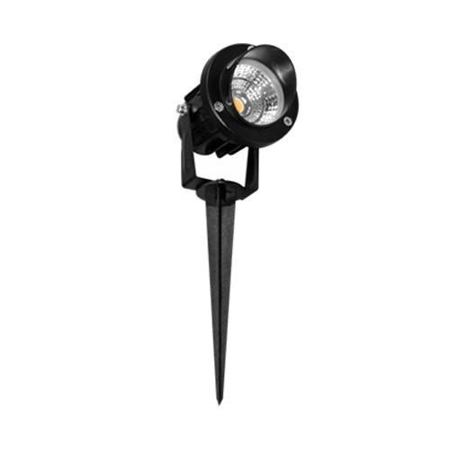 BENEITO FAURE Spot extérieur LED sur piquet orientable Fade 5W 450lm 3000°K noir