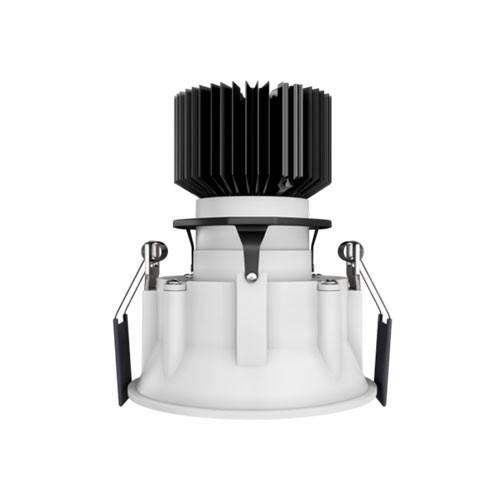 Spot LED encastrable et orientable BENEITO FAURE Tao 10W 675lm 3000°K blanc