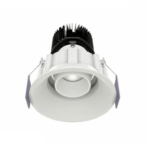 Spot LED BENEITO FAURE encastrable et orientable Tao 10W 675lm 3000°K blanc