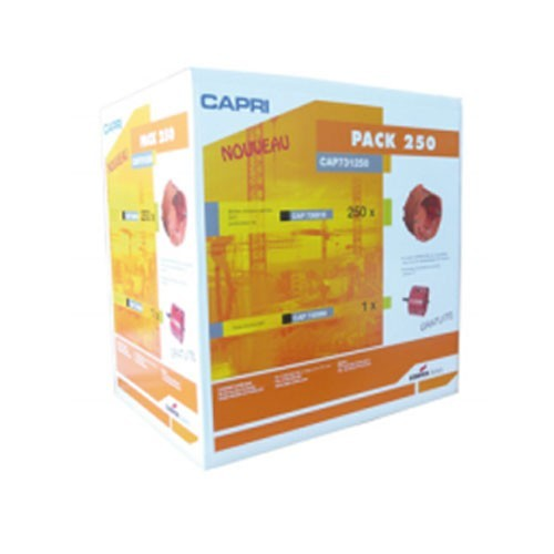 CAPRI Capriclips Pack de 250 boîtes + scie cloche - 3