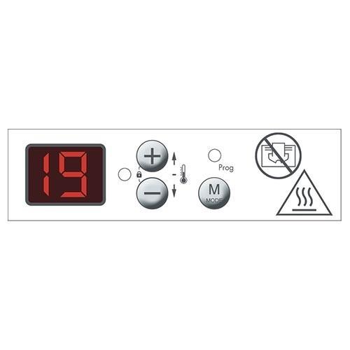 CHAUFELEC Edison Panneau rayonnant horizontal gris 1000W - BJM1823FDHS - 3